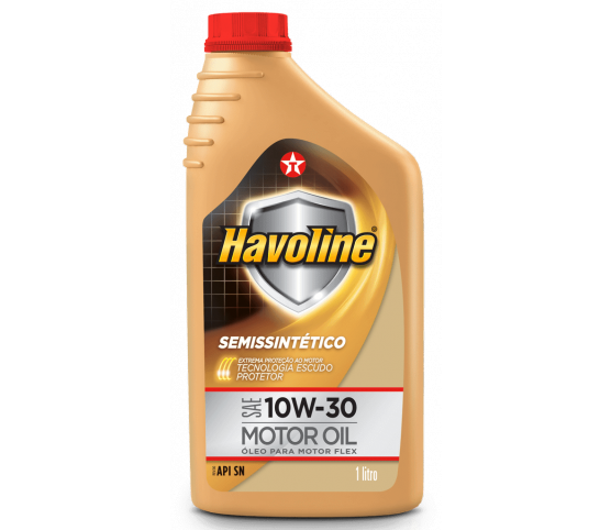 Óleo motor Havoline 10w30 SN